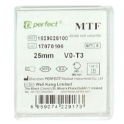 MTF files. NiTi машинные файлы. Perfect Dental