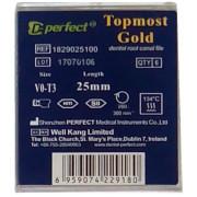 TG-6 Files. Машинные NiTi + Topmost Gold файлы. Perfect Dental