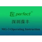 Видео: MG3 Operating Instrucion