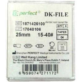 DK FILE. NiTi Машинные файлы Perfect Dental.