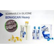 BONASCAN Heavy. сканируемый А-силикон. Оттискная масса.