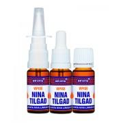 NINA TILGAD, назальные натуральные масла, капли-спрей / пипетка